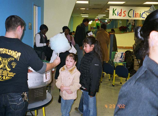 2nd Annual Christmas/Channukah Holiday Party at Mt  Sinai Pediatric